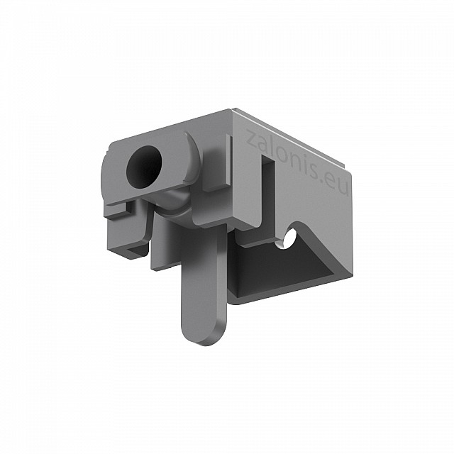 LEVERLOCK CURTAIN RAIL BRACKET / GRAY